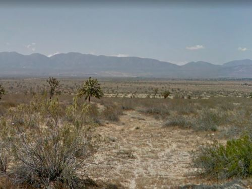 5 Acres In Palmdale, CA : Palmdale : Los Angeles County : California