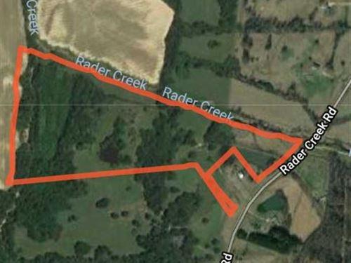 Radar Creek Road, Sarah, MS : Sarah : Tate County : Mississippi