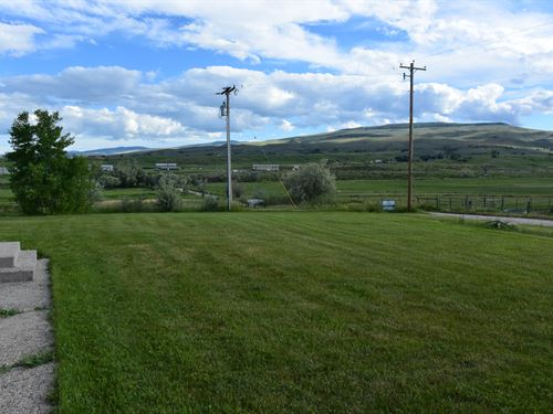 Gulch Creek Country Home : Lander : Fremont County : Wyoming
