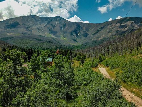 Wooded Lot With Creek & Electricity : Walsenburg : Huerfano County : Colorado