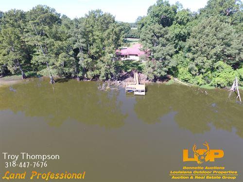 Waterfront Camp On Boggy Bayou : Marksville : La Salle Parish : Louisiana