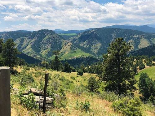 Braun Peak Ranch : Idledale : Jefferson County : Colorado