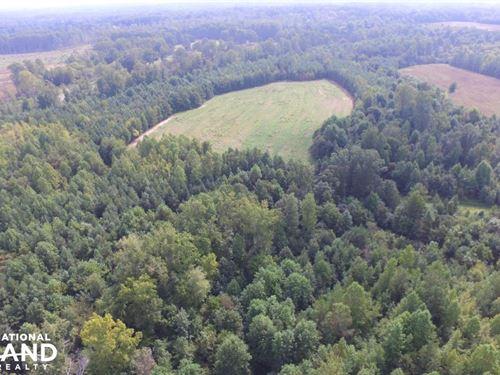 65 Acre Farmstead, Reduced : Roxboro : Person County : North Carolina