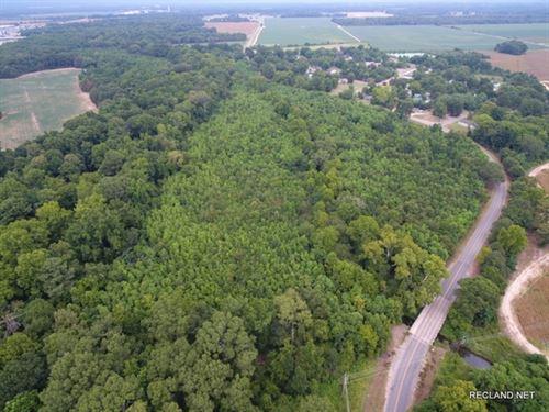 23 Ac, Wooded Tract On Edge Of Tow : Winnsboro : Franklin Parish : Louisiana