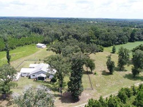 Home And 150 Acres : Greenville : Madison County : Florida