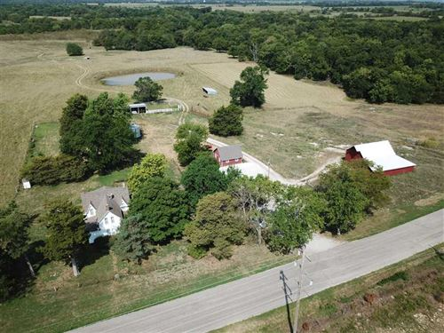 Beautiful Hunting, Farm, Grass, an : Redfield : Bourbon County : Kansas