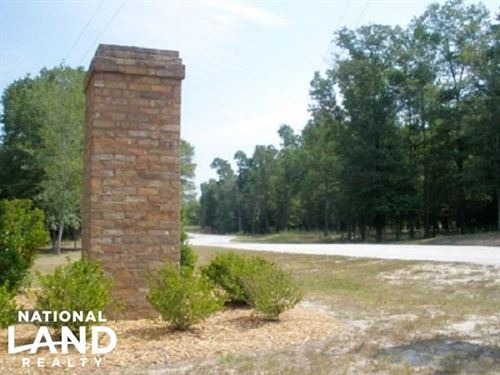 5 Acre Hound Hollow Parcel 62B : Camden : Kershaw County : South Carolina