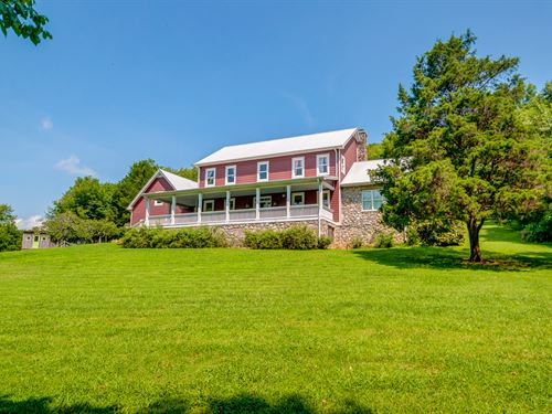 41 Acres & Custom Home : Bethpage : Trousdale County : Tennessee