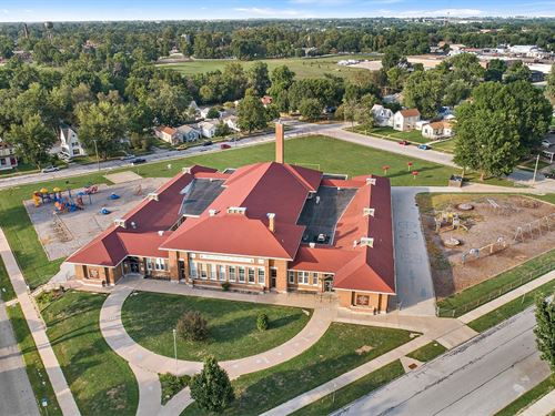 School Building, Land & Chattel : Quincy : Adams County : Illinois