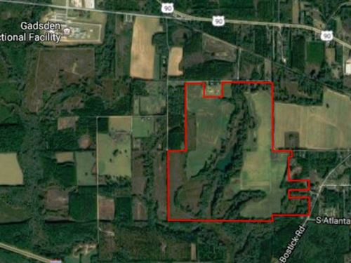 475.5 Acres On Harbin Rd : Quincy : Gadsden County : Florida