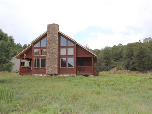 Northern NM Home on 160 Acres Sout : Ocate : Mora County : New Mexico