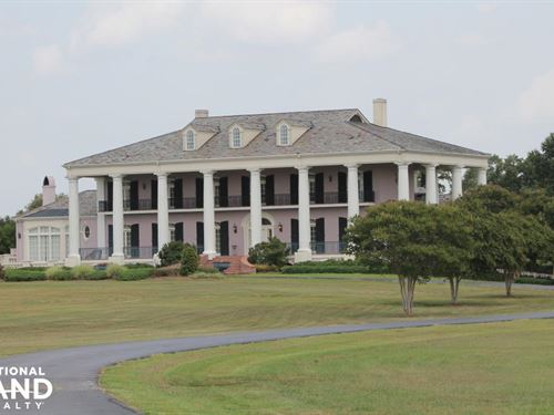 The Mansion At Red Hill : Delhi : Richland Parish : Louisiana