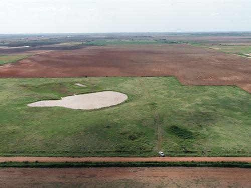 156 Acres & Producing Minerals : Pond Creek : Oklahoma County : Oklahoma