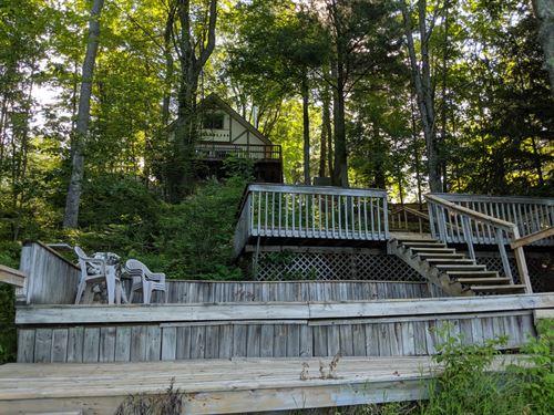Negaunee Lake Frontage & Home : Evart : Osceola County : Michigan
