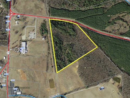 Wooded Acreage : Honea Path : Abbeville County : South Carolina