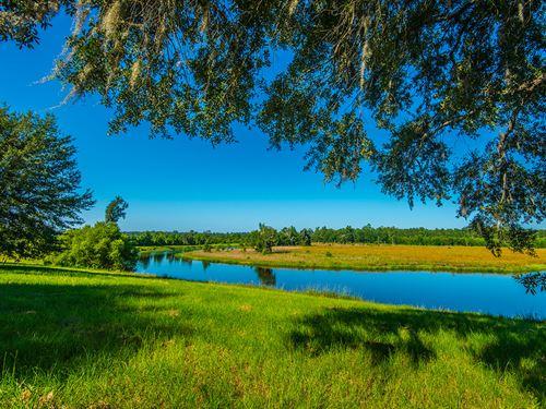 Brick Chimney : Walterboro : Colleton County : South Carolina