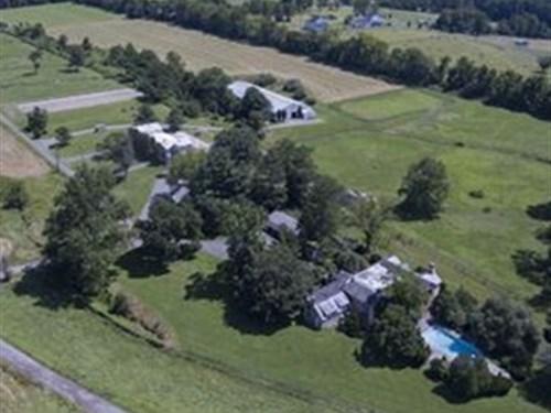 Historic Tullamore Farm : Stockton : Hunterdon County : New Jersey