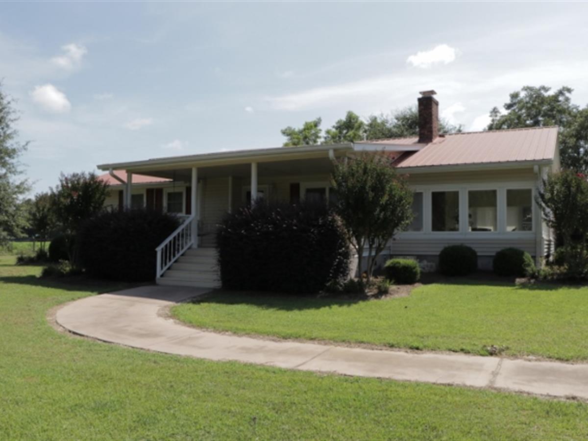 Irrigated Farmland + 3 Homes : Land for Sale : Harrison : Washington County  : Georgia