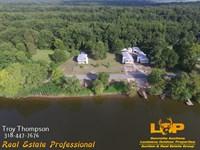 3 Waterfront Larto Camps : Jonesville : La Salle Parish : Louisiana