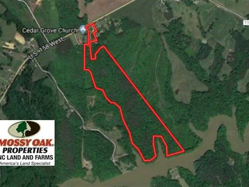 62.68 Acres of Hunting And Recreat : Yanceyville : Caswell County : North Carolina