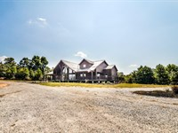 Log Home Of Your Dreams : Meherrin : Prince Edward County : Virginia
