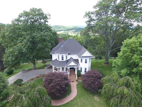 Stunning Home Mountain Views : Independence : Grayson County : Virginia