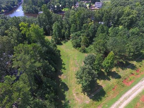Reduced, .75 Acres of Waterfront : Macon : Warren County : North Carolina