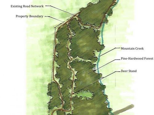 Greenville Hunting Land And Homesit : Honea Path : Greenville County : South Carolina