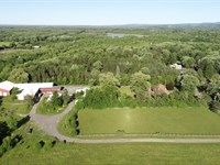 Ranch & Business With Huge Shop : Manlius : Onondaga County : New York