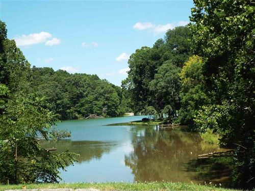 Building Lot On Private Lake : Morristown : Hamblen County : Tennessee
