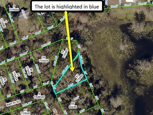 Only 70 Percent Market Value : Ridge Manor : Hernando County : Florida