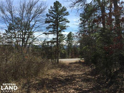 Burnt Ridge Rd Lake And Mountain Vi : Shirley : Van Buren County : Arkansas