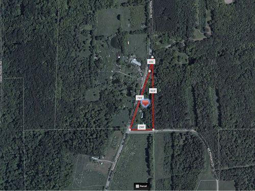 Tranquil Wooded Corner Lot : Odessa : Schuyler County : New York