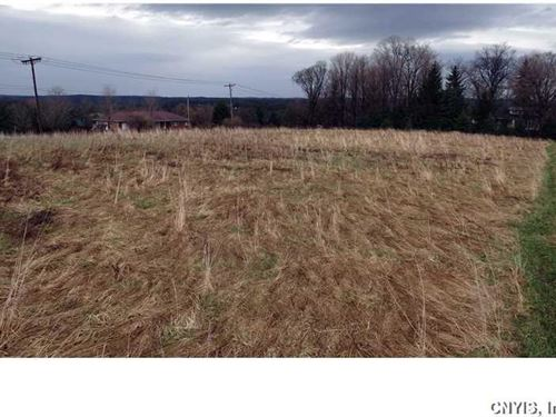 Rolling Fields And A Corner Lot : Manlius : Onondaga County : New York