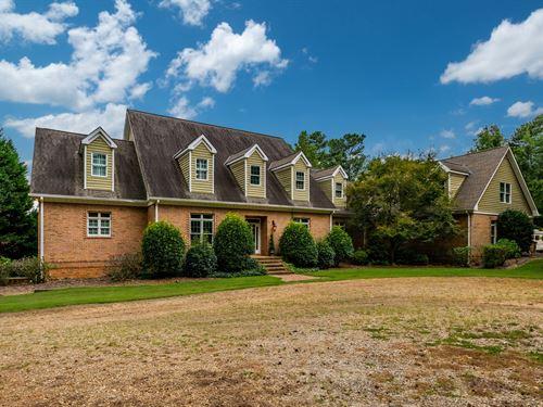 4 Sided Brick Home On 10 Acres : Monroe : Walton County : Georgia