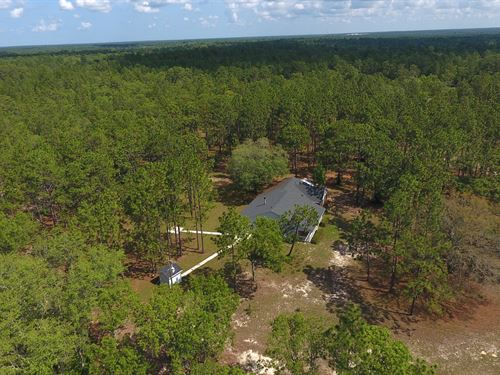 Country Living On 15 Ac- H-404 : Keystone Heights : Clay County : Florida