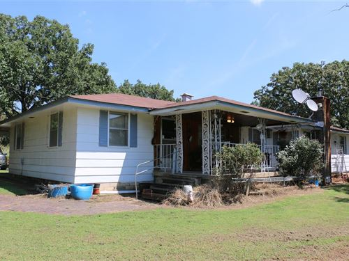 5 Bed Home On 70 Acres M/L : Sallisaw : Sequoyah County : Oklahoma