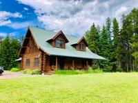Buck Creek Homestead Ranch : Condon : Missoula County : Montana