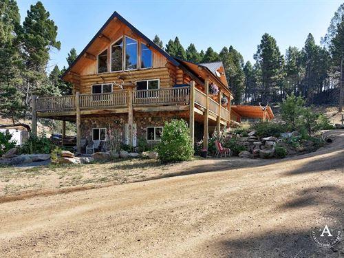Big Bull Hunting Lodge : Boulder : Jefferson County : Montana
