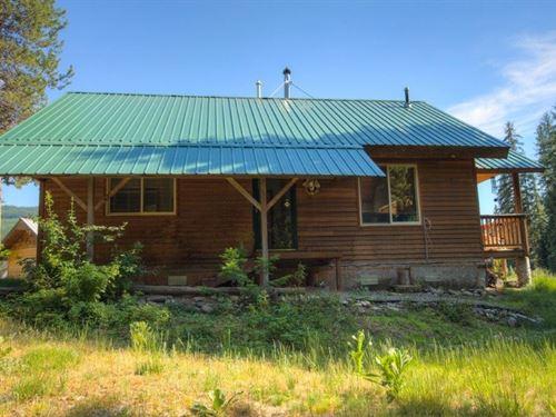Yaak River Retreat : Yaak : Lincoln County : Montana