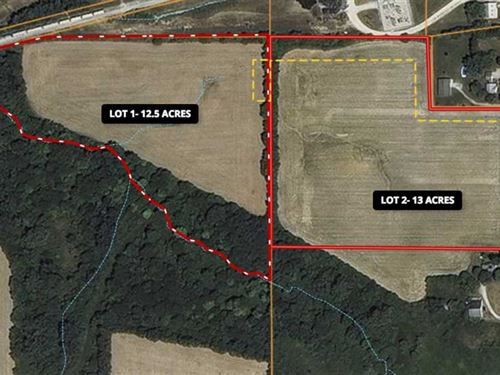Lot 2, 13+ Acres Brookside Rd : Lapel : Madison County : Indiana
