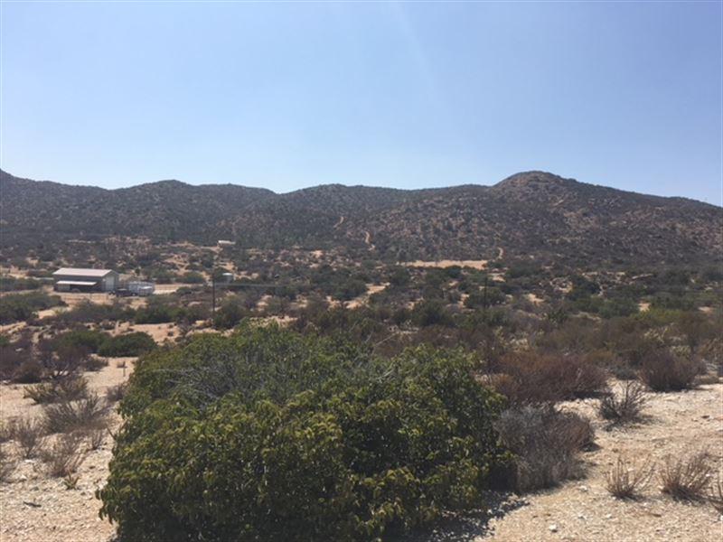 Backcountry Home Site : Jacumba : San Diego County : California