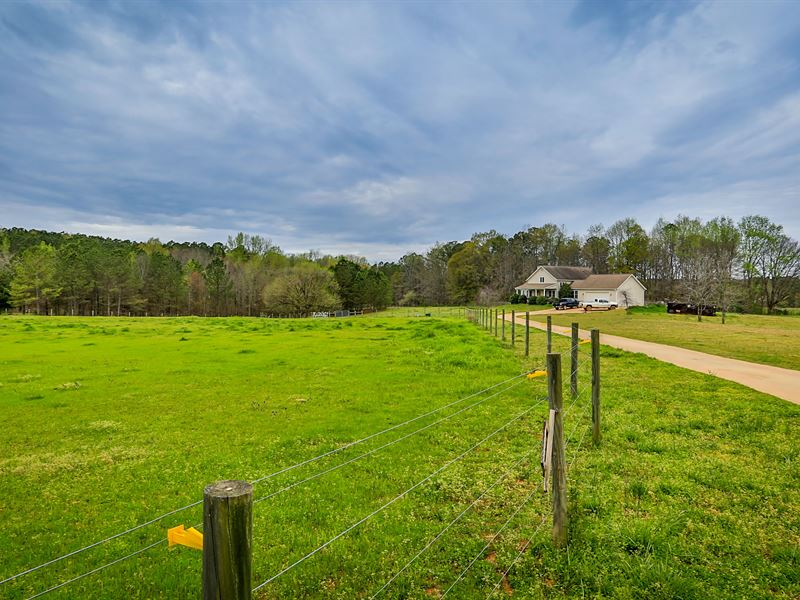 Over 25 Acres In Morgan County : Madison : Morgan County : Georgia