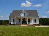 Picturesque 20.76+/- Ac Farm, House : Fountain Inn : Laurens County : South Carolina