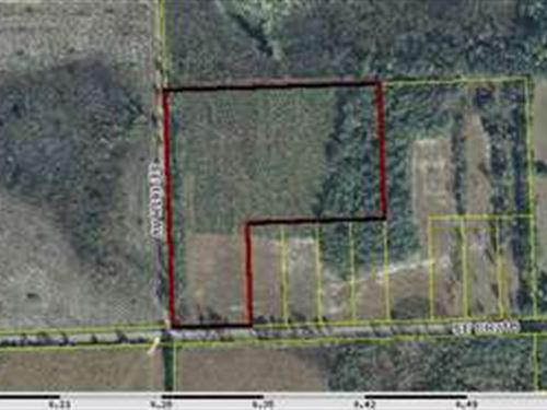 11.17 Acres- A-328 : Keystone Heights : Bradford County : Florida