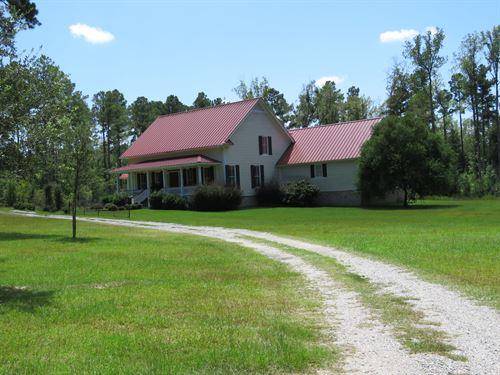 Camp Branch : Varnville : Hampton County : South Carolina