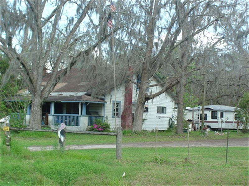 Farm House On 75 Acres, A-562 : Starke : Bradford County : Florida