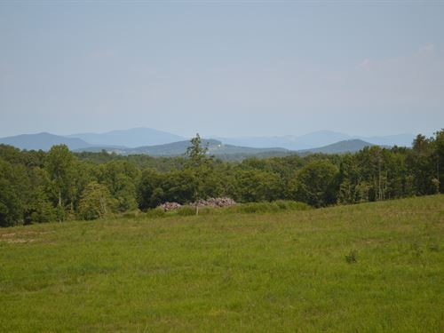 21 Acres With Great Mountain View : Campobello : Spartanburg County : South Carolina