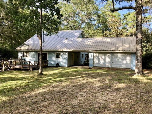 12+/- Acres With House : Poplarville : Pearl River County : Mississippi