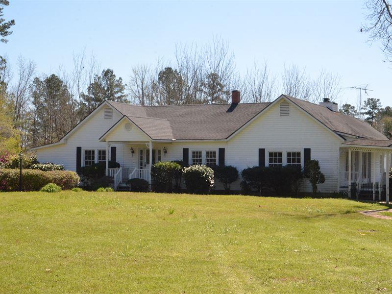 Farm With Home : Jackson : Clarke County : Alabama